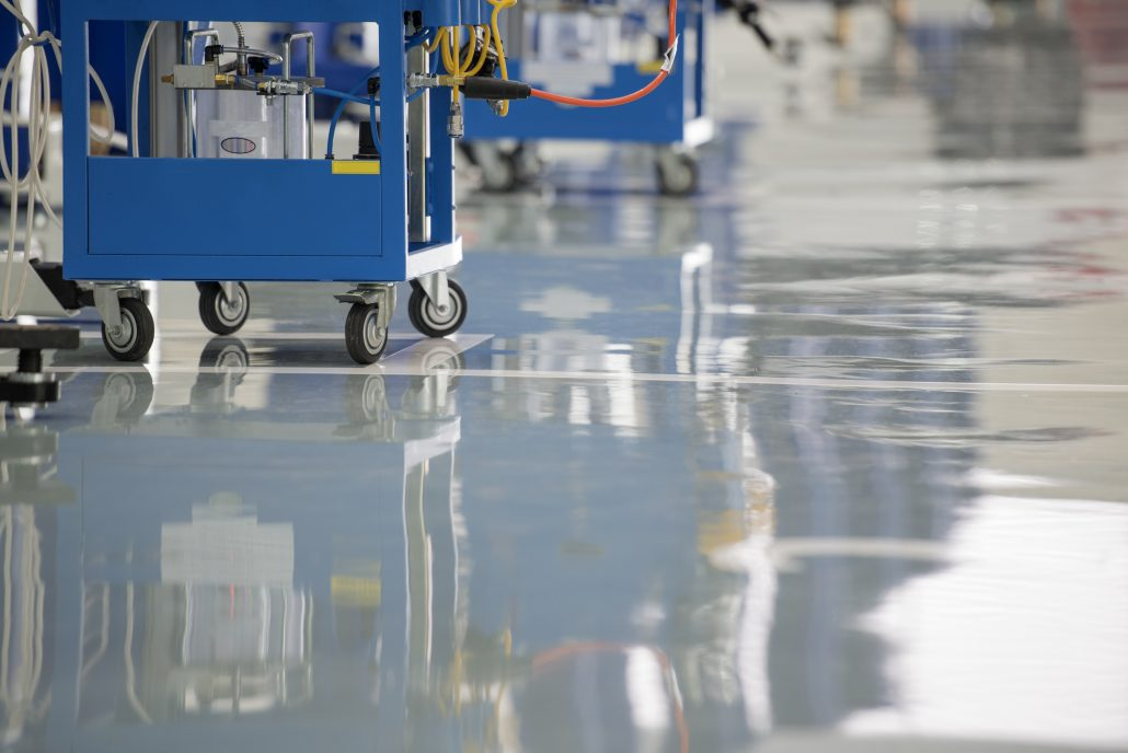 Self Leveling Epoxy : Self leveling epoxy coating floor