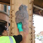 Anti Graffiti coating for metal substrates
