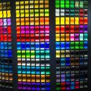 Examples of powder coating colours