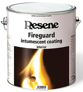fire retardant coating made in new zealand resene fireguard