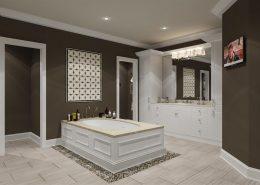 Bathroom with bathroom paint nz