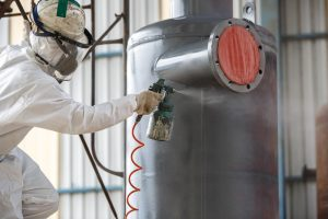 Using airless spray to apply thermal insulation coating NZ