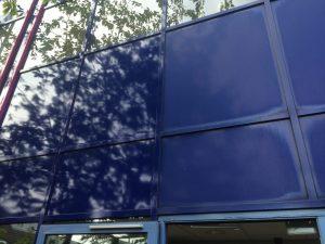 Colour restoration paint NZ on building exterior