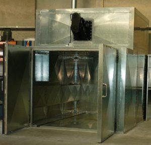 Powder coating oven NZ from Kiwicote Ltd