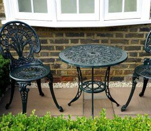 Powder coating furniture NZ on garden furniture