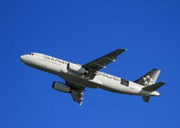 aerospace coatings applied to an airplane of air new zealand plane